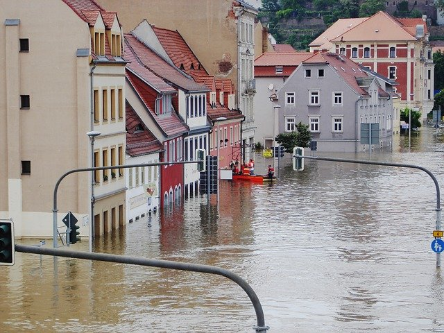 High water flooding